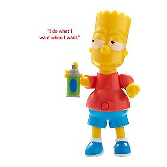 The Simpsons Action Figure with Sound - Bart Simpson