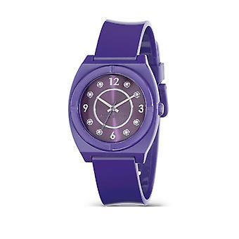 Miss 60 Vintage paars horloge R0751110506