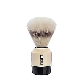 Nom Marten Natural Bristle Shaving Brush - Cream