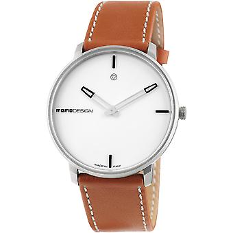 Momodesign essenziale heritage Swiss Quartz Analog Man Watch with MD6003SS-12 Synthetic Leather Bracelet