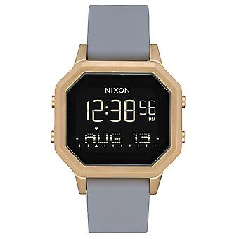 Nixon the Sirene Watch for Digital Woman with Silicone Bracelet A12113163