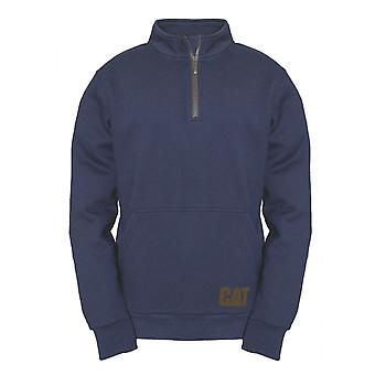 Caterpillar Miesten AG 1/4 Zip vedä Jumper Eclipse