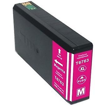 676XL (T6763) Cartouche d'encre compatible Magenta