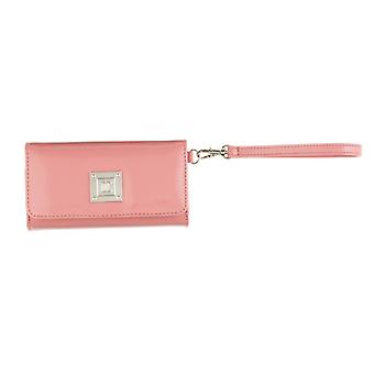 Danielle Mini Cosmetics Clutch Bag Makeup Case - Pink