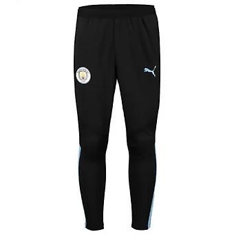 2019-2020 Manchester City Puma Pro trainingsbroek zonder zakken (asfalt)