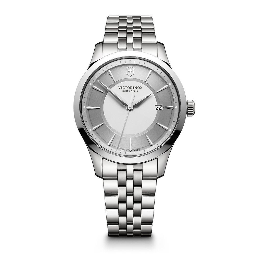 Victorinox Swiss Army 241822 Alliance Silver Stainless Steel Men's Watch