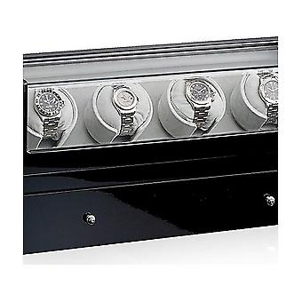Designhütte watch winder San Diego 4 LCD black 70005-55