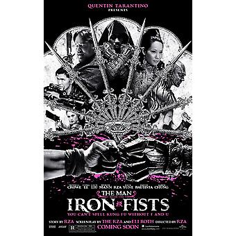 The Man With The Iron Fists Poster Double Sided Regular (2012) Original Cinema Poster (2012)
