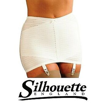 Silhouette Lingerie 'Gorsetry Collection' Firm Hold Little & X' Open 4 Strap Girdle