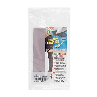 Marbet MB121.009 | Stretch Jersey Fabric | Iron-On | 20 x 15cm | Light Grey