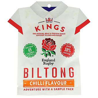 Kings Biltong Chilli Beef Flavour 18G Pack X16