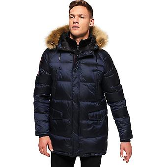 Superdry Down SDX Parka Jacket Blue 03