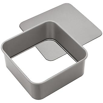 Judge Bakeware, Square Cake Tin, Loose Base, 18 X 18 X 7cm, (7 X 7 X 2�inch)
