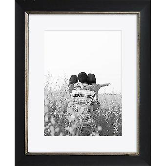 Black Photo Frame Wall Mounted Large Poster Picture Falmouth Modern