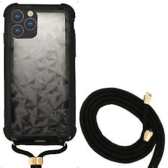 Backcover Shockproof Cord 3D PC for Apple iPhone 11 Pro Max (6.5) Black