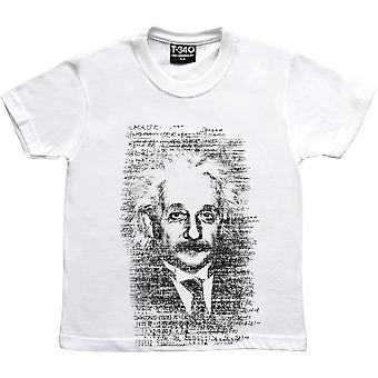 Albert Einstein Formulae White Kids' Camiseta
