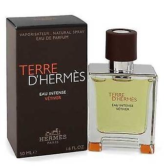 Terre D'hermes Eau Intense Vetiver By Hermes Eau De Parfum Spray 1.7 Oz (men) V728-547795