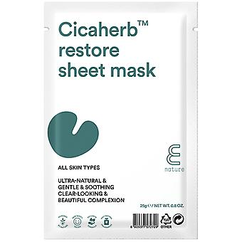 E-Nature Cicaherb Restore Sheet Mask Set