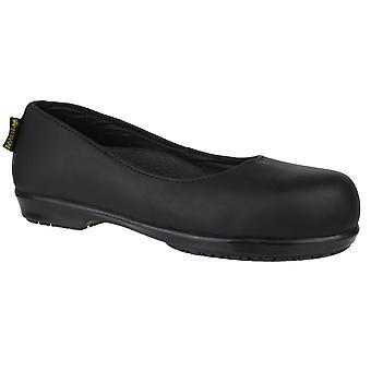 أمبليرس سلامة المرأة FS109C معدنية غير زلة على الأحذية الجلدية