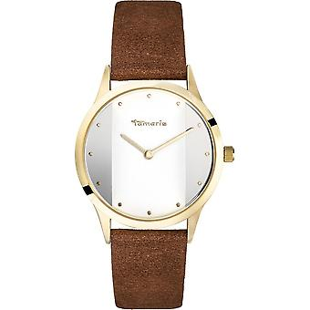 Tamaris - wristwatch - Anita - DAU 35 - 5mm - gold - ladies - TW015 - brown gold white