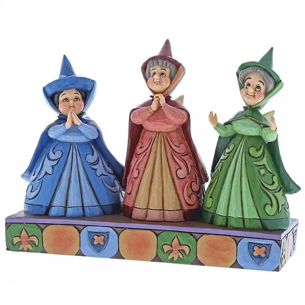 Disney Traditions Royal Guests Three Fairies Figurine