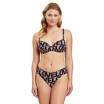 R-sch 1205506-16566 Mujeres's Love Ringlet Gris Bikini Set