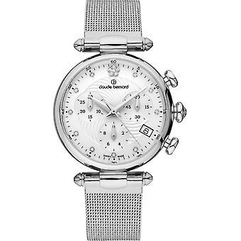 Claude Bernard - Wristwatch - Women - Dress code Chronograph - 10216 3 APN2