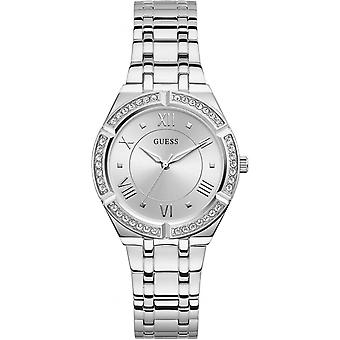 Watch Guess Watches GW0033L1 - Steel box with crystals Silver Dial Steel Bracelet