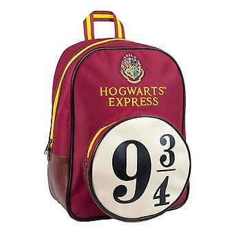 Harry Potter Backpack Bag Hogwarts Express Platform 9 3/4 new Official Red