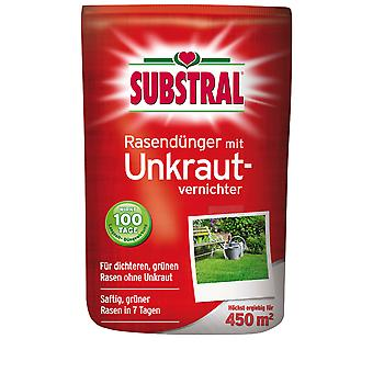 SUBSTRAL® lawn fertilizer with weed killer, 9 kg