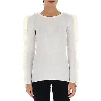 See By Chloé Chs20smp25620107 Women's White Cotton Sweater