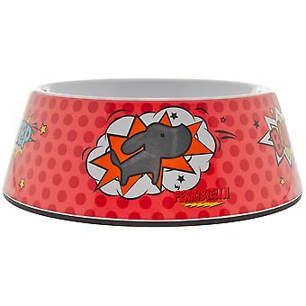 Ferribiella Motif Bowl M 700Ml-19,8X6,8Cm (Dogs , Bowls, Feeders & Water Dispensers)