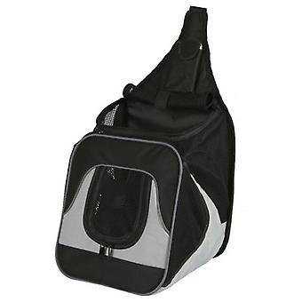 Trixie Savina front rucksack, nylon, 30x33x26 cm grey-black
