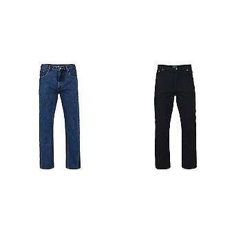 Kam Jeanswear Mens Regular Fit Jeans