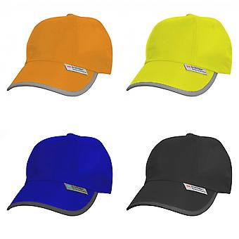 Result Unisex High-Vis Baseball Cap (3M) (Pack of 2)