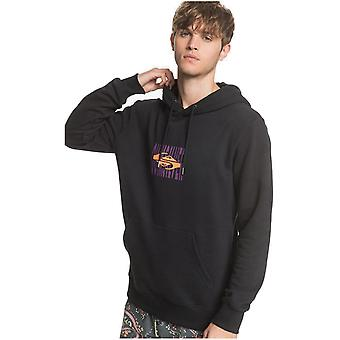 Quiksilver Either Way Pullover Hoody in Black