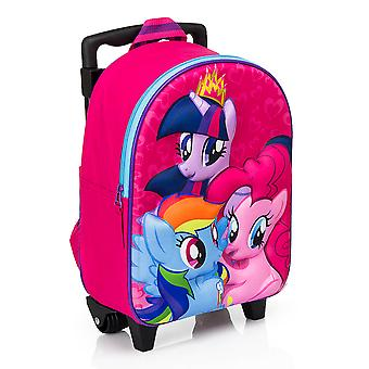 My Little Pony backpack/suitcase with wheels 38x31x15 cm