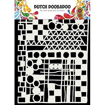 الهولندية Doobadoo الهولندية قناع الفن جيو ميكس A5 470.715.137