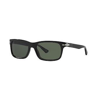 Persol PO3048S 95/31 Black/Crystal Green Sunglasses