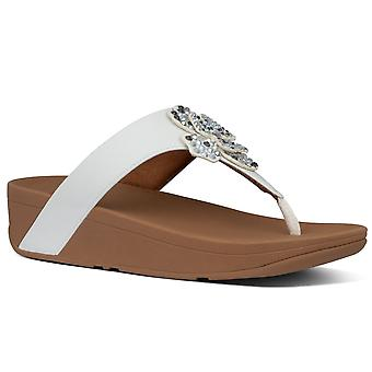 FitFlop™ Lottie Corsage Womens Toe Post Sandals