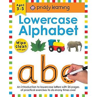 Wipe Clean Workbooks - Lowercase Alphabets by Roger Priddy - 978178341