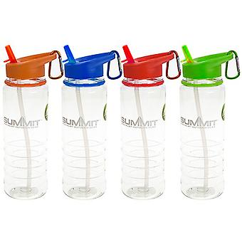700ml Water Bottle with Folding Straw