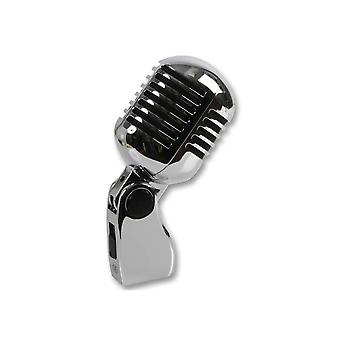 Pulse Retro 50s Style Chrome Microphone