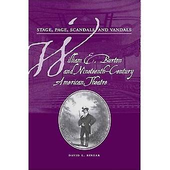 Palco - Page - Escândalos - e Vândalos - William E. Burton e Nineteen