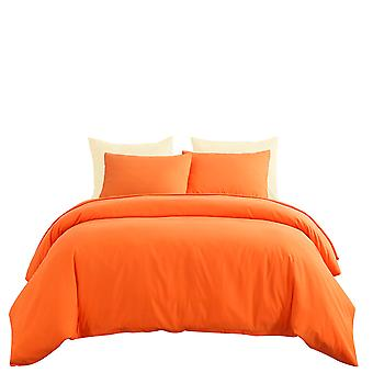 Quilt cover, bedding with pillowcase, color zipper opening and closing quilt cover, mildew resistant and durable