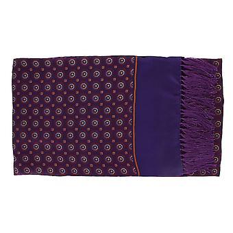 Michelsons Lontoo Vintage mitali silkkiä ja huivi - violetti