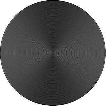 POPSOCKETS Twist Black Aluminum Mobile phone stand Black