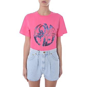 Alberta Ferretti 070316721206 Frauen's rosa Baumwolle T-shirt