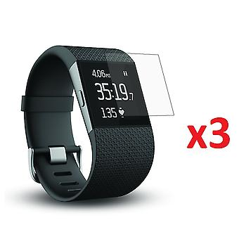 3x Screen Protector Film Cover für Fitbit Surge Smart Watch