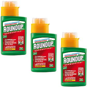 Sparset: 3 x ROUNDUP® AC concentrate, 250 ml